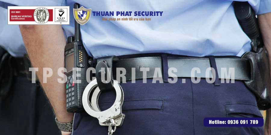 Trang thiết bị cho nhân viên An Ninh - Bảo Vệ TPSecuritas